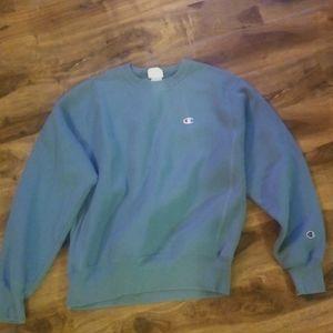 Champion reverse weave sweatshirt grey blue